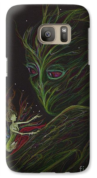 Galaxy Case featuring the drawing Admire Your Markings by Dawn Fairies
