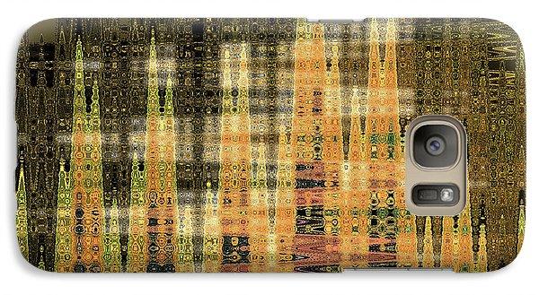 Galaxy Case featuring the digital art Admiring Gustav by Ann Johndro-Collins