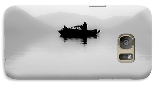 Galaxy Case featuring the photograph Adrift by Aaron Aldrich