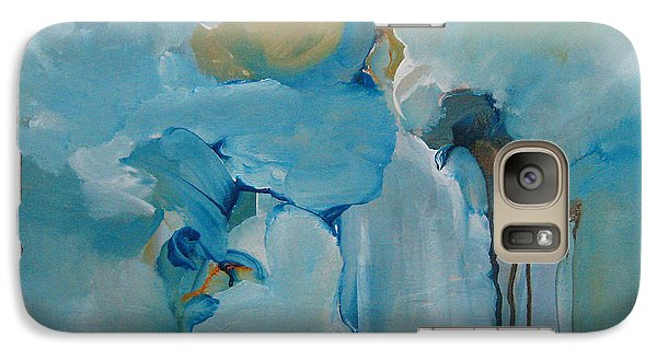 Galaxy Case featuring the painting aDrift I by Elis Cooke