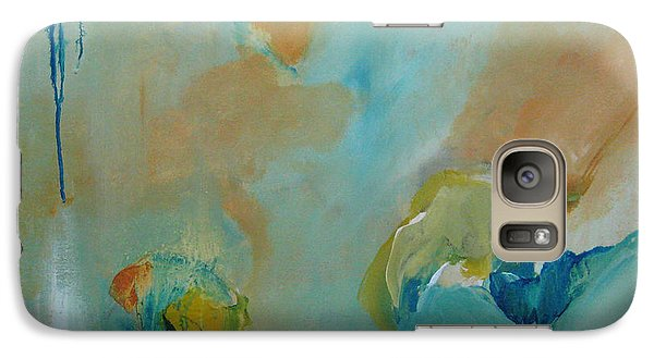 Galaxy Case featuring the painting aDrift II by Elis Cooke