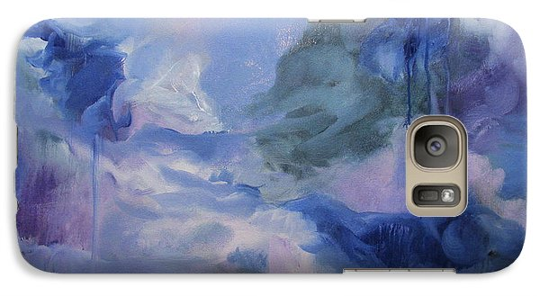 Galaxy Case featuring the painting aDrift IX by Elis Cooke