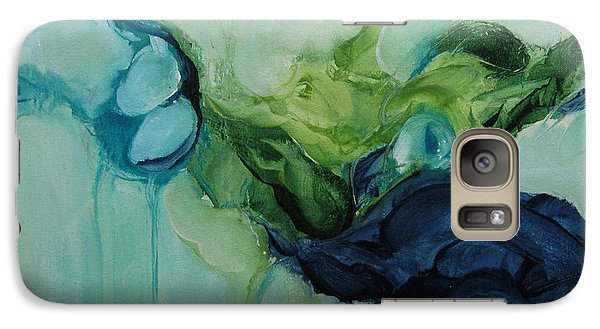 Galaxy Case featuring the painting aDrift VII by Elis Cooke