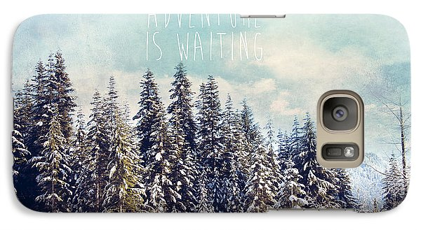 Galaxy Case featuring the photograph Adventure Is Waiting by Sylvia Cook