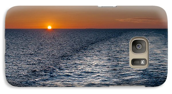 Galaxy Case featuring the photograph Aegean Sea Early In The Morning by Sergey Simanovsky