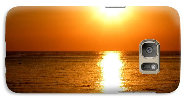 Galaxy Case featuring the photograph Aegean Sunset by Micki Findlay