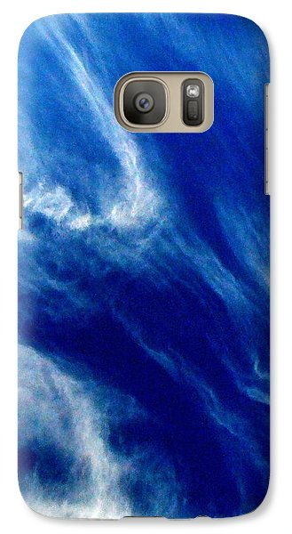 Galaxy Case featuring the photograph Aerial Ocean by Carlee Ojeda