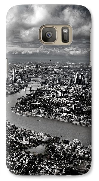 Aerial View Of London 4 Galaxy S7 Case