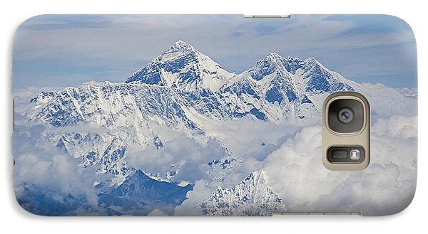 Aerial View Of Mount Everest, Nepal, 2007 Galaxy S7 Case