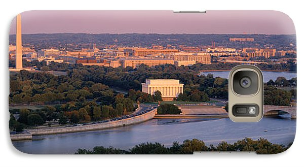 Aerial, Washington Dc, District Of Galaxy S7 Case by Panoramic Images