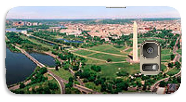 Aerial Washington Dc Usa Galaxy S7 Case by Panoramic Images