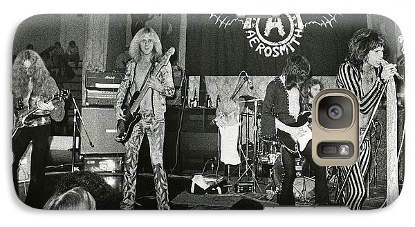 Aerosmith - Aerosmith Tour 1973 Galaxy S7 Case by Epic Rights