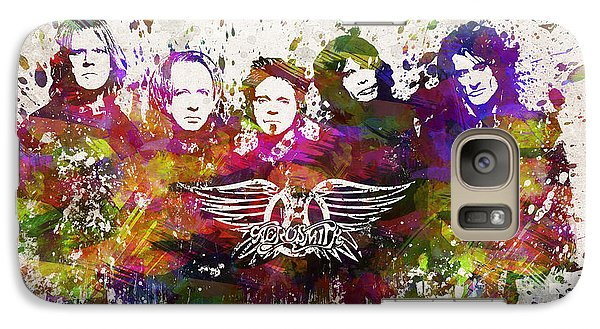 Aerosmith In Color Galaxy Case by Aged Pixel