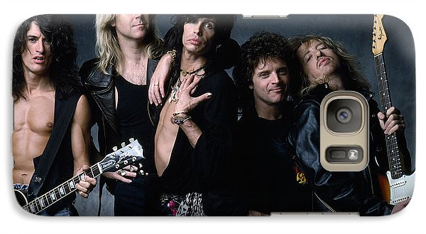 Aerosmith - Let The Music Do The Talking 1980s Galaxy S7 Case by Epic Rights