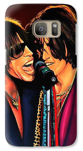 Aerosmith Toxic Twins Painting Galaxy S7 Case