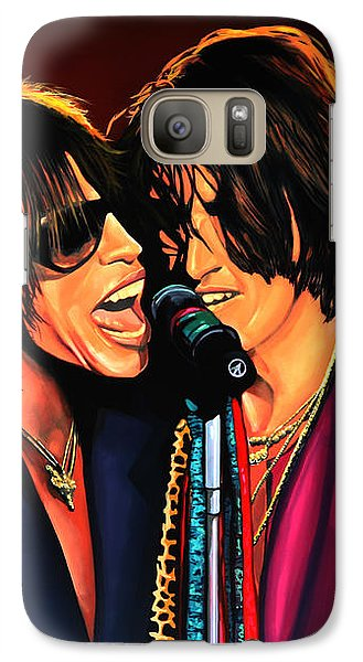 Aerosmith Toxic Twins Painting Galaxy Case by Paul Meijering