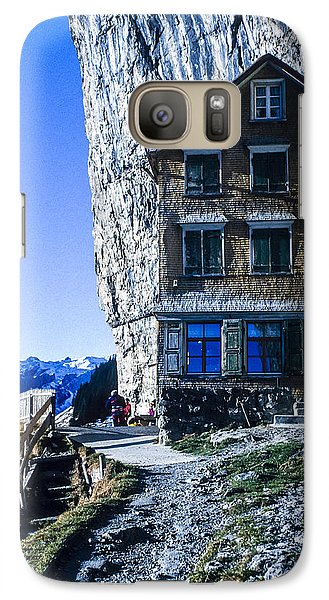 Galaxy Case featuring the photograph Aescher Hotel by Tina Manley