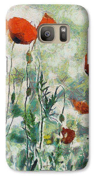Galaxy Case featuring the painting Affection by Joe Misrasi