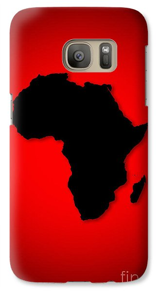 Galaxy Case featuring the digital art Africa  by Mohamed Elkhamisy