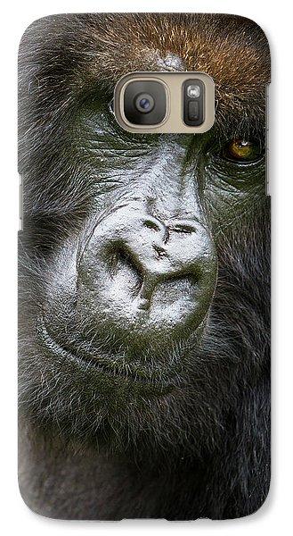 Africa Rwanda Female Mountain Gorilla Galaxy S7 Case by Ralph H. Bendjebar