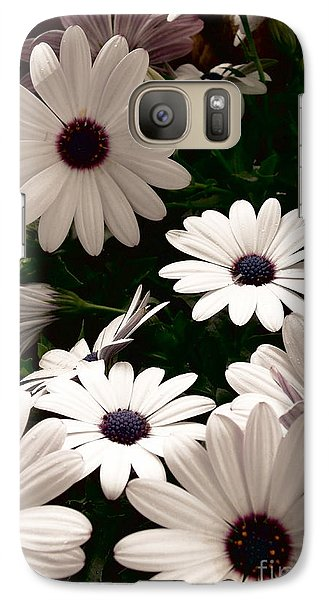 Galaxy Case featuring the photograph African Daisies by Debi Dmytryshyn
