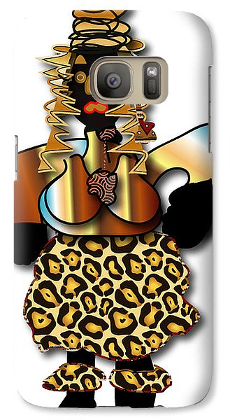 African Dancer 2 Galaxy S7 Case by Marvin Blaine