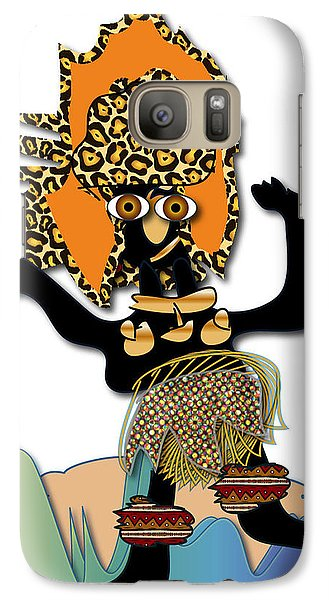 African Dancer 6 Galaxy S7 Case by Marvin Blaine