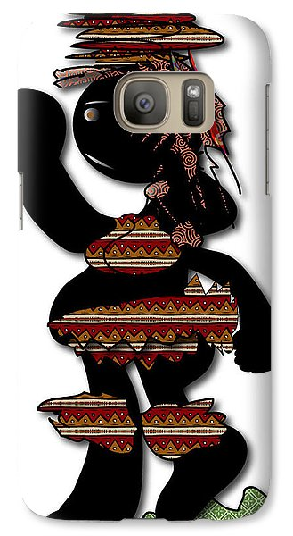 African Dancer 7 Galaxy S7 Case by Marvin Blaine