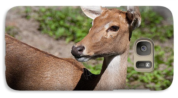 Galaxy Case featuring the photograph African Deer by John Black