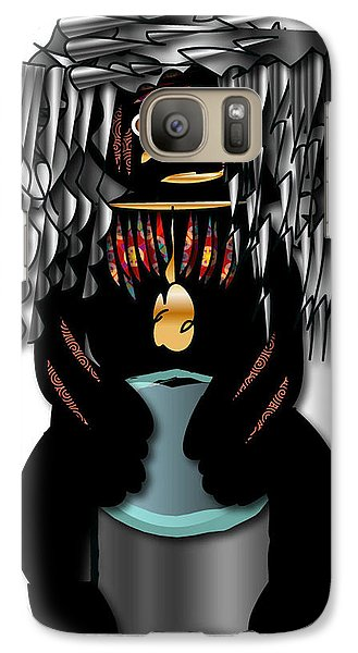 African Drummer 2 Galaxy S7 Case by Marvin Blaine