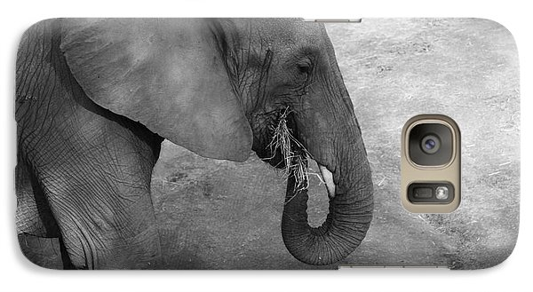 Galaxy Case featuring the photograph African Elephant by Edward R Wisell