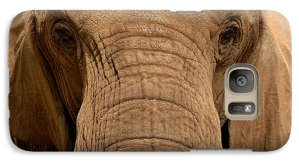 Galaxy Case featuring the photograph African Elephant by Nadalyn Larsen