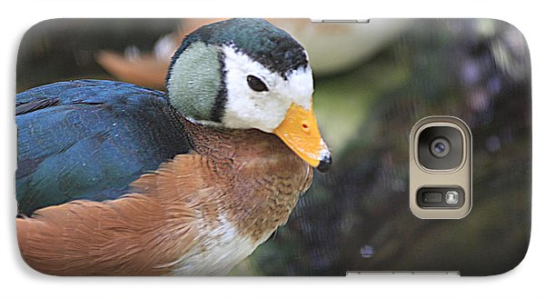 Galaxy Case featuring the photograph African Pygmy Goose by Jerry Bunger