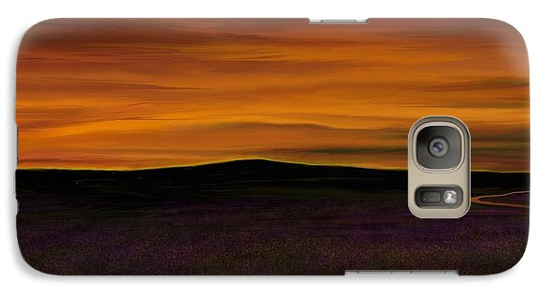 Galaxy Case featuring the painting African Sky by Rand Herron