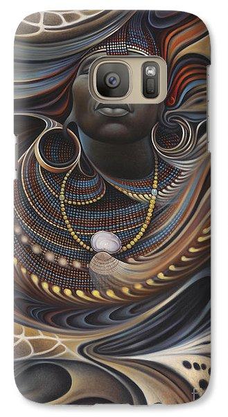 African Spirits I Galaxy Case by Ricardo Chavez-Mendez