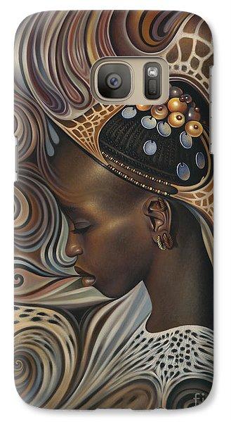African Spirits II Galaxy Case by Ricardo Chavez-Mendez