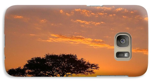 African Sunset Galaxy S7 Case by Sebastian Musial