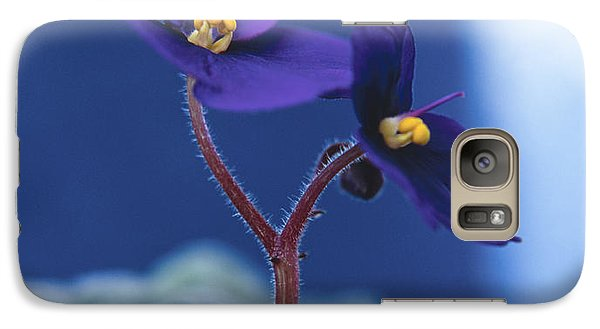 Galaxy Case featuring the photograph African Violet by Lana Enderle