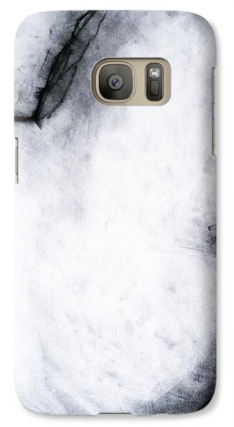 Galaxy Case featuring the drawing After Life Drawing 2 by Helen Syron