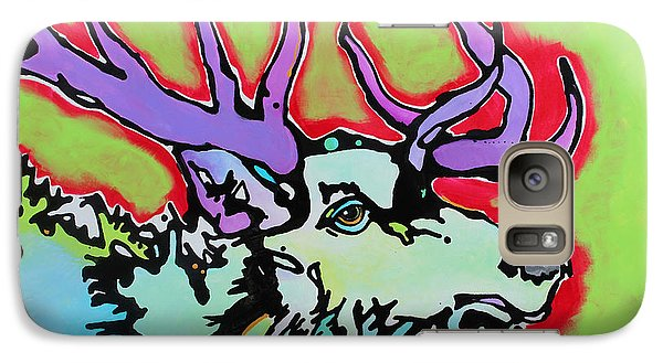 Galaxy Case featuring the painting After Midnight by Nicole Gaitan