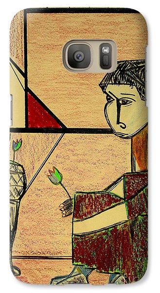 Galaxy Case featuring the pastel after Picasso by Bill OConnor