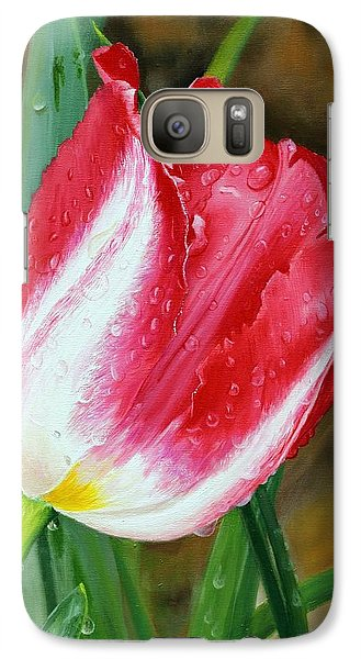 Galaxy Case featuring the painting After The Rain by Glenn Beasley