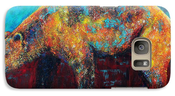 Galaxy Case featuring the painting After The Rain by Jennifer Godshalk