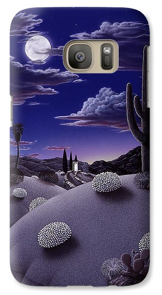 Desert Galaxy S7 Case - After The Rain by Snake Jagger