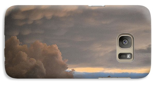 Galaxy Case featuring the photograph After The Storm 2  by Lyle Crump