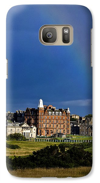 Galaxy Case featuring the photograph After The Storm At St. Andrews Golf Old Course Scotland by Sally Ross