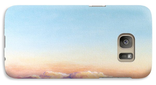 Galaxy Case featuring the painting After The Storm by Craig T Burgwardt
