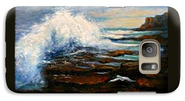 Galaxy Case featuring the painting After The Storm by Gail Kirtz