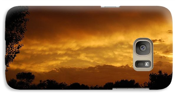 Galaxy Case featuring the photograph After The Storm by Ramona Whiteaker