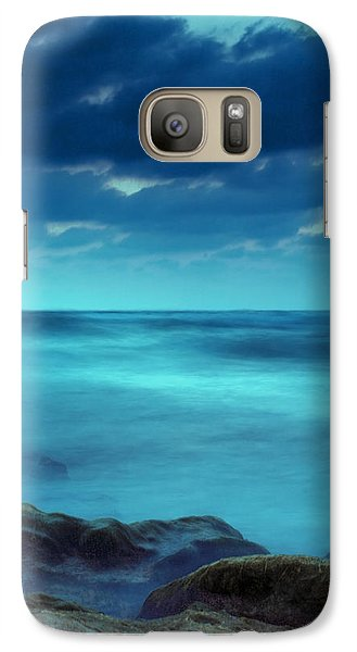 Galaxy Case featuring the photograph After The Sunset by Meir Ezrachi